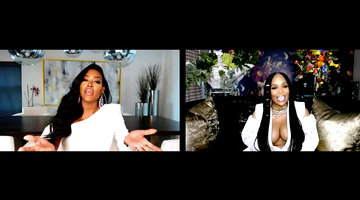 Marlo Hampton and Kenya Moore Clash