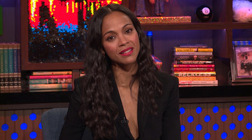 Zoe Saldana on Britney Spears Revealing Her Twins