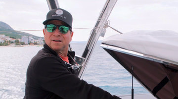 Captain Glenn Shephard Loses Control of the Sailing Yacht