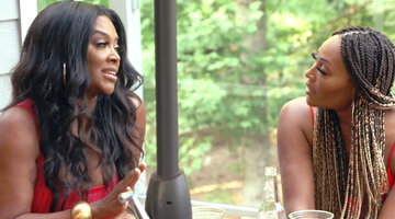 Kenya Moore Clashes with Cynthia Bailey