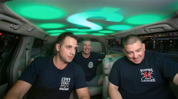Three Firemen Won BIG In the Cash Cab!