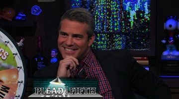 Andy Cohen Pleads the Fifth
