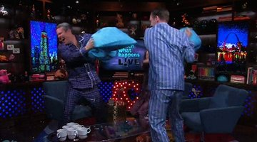 Pajama Party Pillow Fight