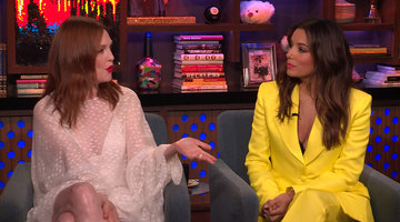 Julianne Moore & Eva Longoria on The Time's Up Movement