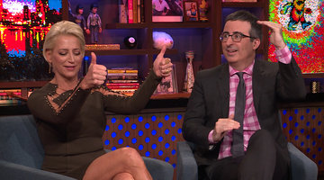 Which #RHONY 'Wife Does John Oliver Want for Office?