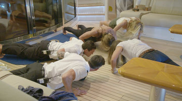 Unseen Footage: It's a #BelowDeckMed Pushup Competition