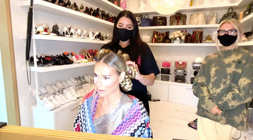 Dorit Kemsley's Hairstylist Justine Marjan Creates an Epic Reunion Hairstyle