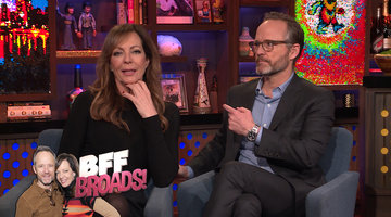 Allison Janney & John Benjamin Hickey Dish About The Broadway Life