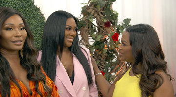 Did Kenya Moore Just Ruin Cynthia Bailey's Surprise Engagement?