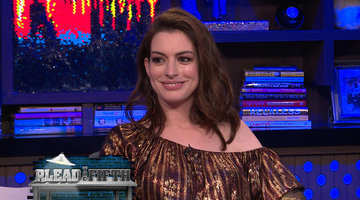 Will Anne Hathaway Plead the Fifth?