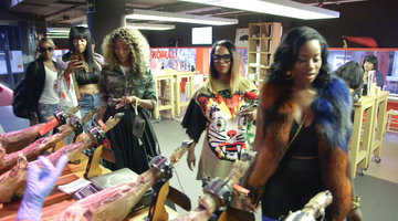 The #RHOA Ladies Try a Barcelona Delicacy