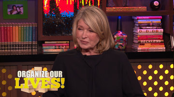Martha Stewart's Life Advice for Andy Cohen's Staff