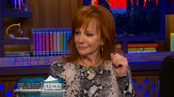 Reba McEntire Plays Plead the Fifth!
