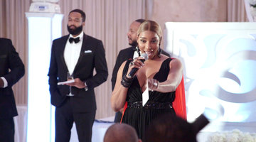 Nene Leakes' Wedding Speech to Eva Marcille and Michael Sterling
