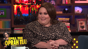 Chrissy Metz's Private Lunch with Oprah