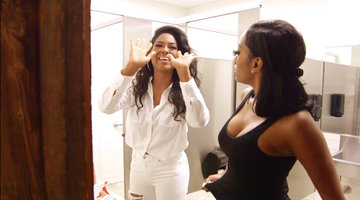 Kenya Moore Goes Off on a Producer