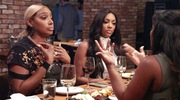 Who Told Porsha Williams What Kandi Burruss Said About Her Man?