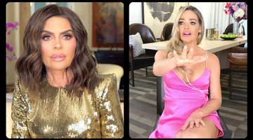 "Lisa Rinna to Denise Richards: ""Are You Threatening Me?"""