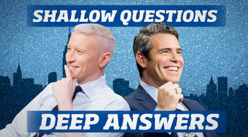 Ask Andy: What's Anderson Cooper's Most Annoying Habit?