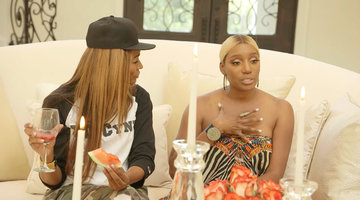 NeNe Leakes Breaks Down About Her Stand-Up Incident