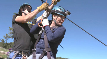 Gail's Day Off: Zip Lining