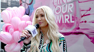 Erika Jayne Gives Out Blonde Hair Tips