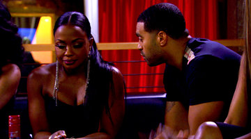 Apollo and Phaedra's Tense Reunion
