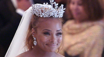 Your First Look at Eva Marcille's Wedding