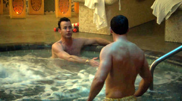Chris and Chad Do Some Dealings – Semi-Nude