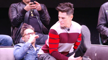 Tom Sandoval Gives Tom Schwartz the Ultimate Lap Dance at BravoCon