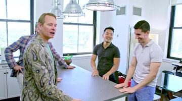 "Carson Kressley and Thom Filicia's Client's Furniture is ""Very Witness Relocation Program"""
