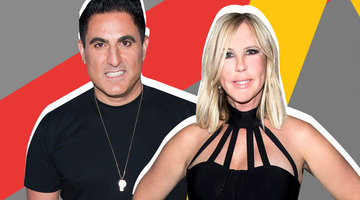 Reza Farahan Gives Some Shady Advice to the Countess Luann de Lesseps