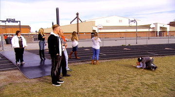 Kroy Biermann Visits His Hometown High School