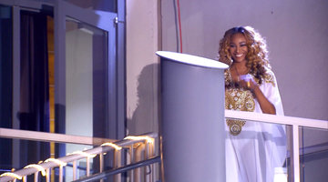 Cynthia Bailey Knows How to Make an Entrance