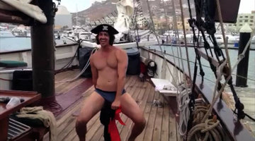 Peter the Pirate Stripper