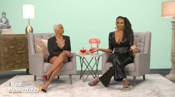 Cynthia Bailey Claps Back at Kenya Moore for Roasting Her Wine Knowledge