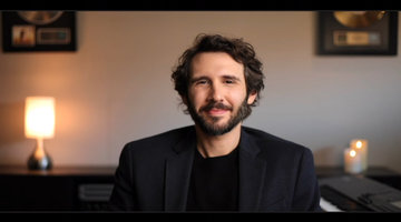 Josh Groban's Advice from Celine Dion