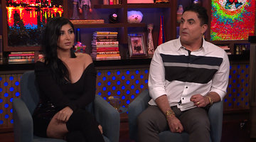 Did Reza Farahan Like MJ Javid's Wedding Dress?