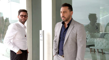 Josh Flagg and Josh Altman Parter Up On a Mansion Fit for a Superhero