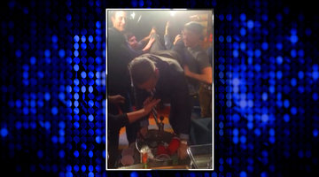 After Show: Andy Did a Keg Stand!