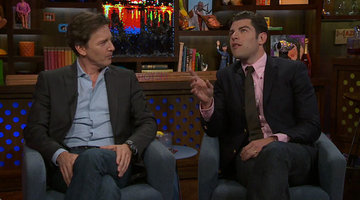 When Max Greenfield Met Andy Cohen