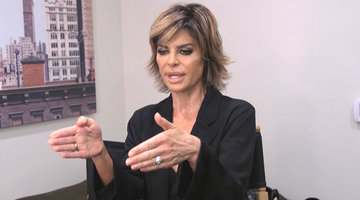 Lisa Rinna Isn't Surprised She's Sitting by Andy