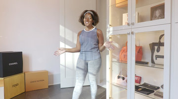 Toya Bush-Harris's Closet Is Two Stories Of Glitz and Glamour