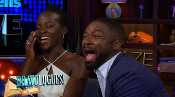 Lupita Nyong'o & David Oyelowo Perform Bravologues!