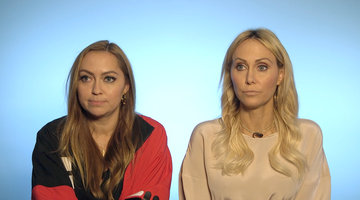 Tish and Brandi Cyrus Share Beauty Tips