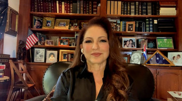 Gloria Estefan on Meeting Queen Elizabeth with Luciano Pavarotti