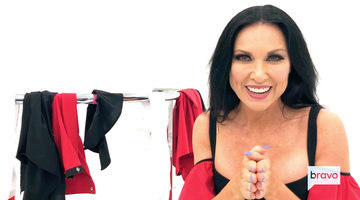 Get a Closer Look at LeeAnne Locken's Ultimate Little Black Dress