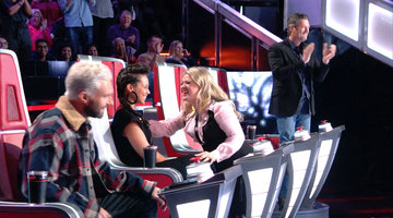 Real Coaches of The Voice, Episode 4: One Big, Happy Family?