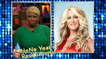NeNe Year's Resolutions!