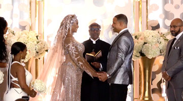 Your First Look at Cynthia Bailey's Wedding